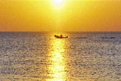 boot-boat-meer-sonnenuntergang-sunset