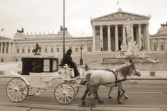 wien-fiaker-parlament-cab-vienna
