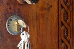 Schlüssel-Schloss