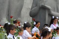 Erstklässler-Manatadran-Yerevan-Armenien