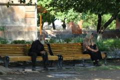 Mann und Frau-Armenien-Armenia-Couple-Paar