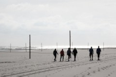 nordic walking-north sea-nordsee-wangerooge-sport am morgen