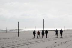 nordic walking-north sea-nordsee-wangerooge-sport am morgen